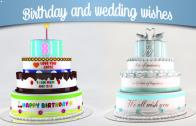wedding and birthday