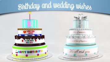Birthday and Wedding wishes