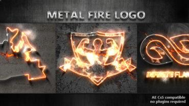 Metal Fire Logo