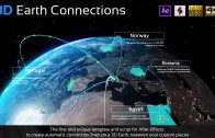 Earth Map Connections