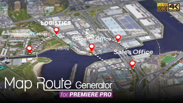 Map Route Generator for Premiere Pro